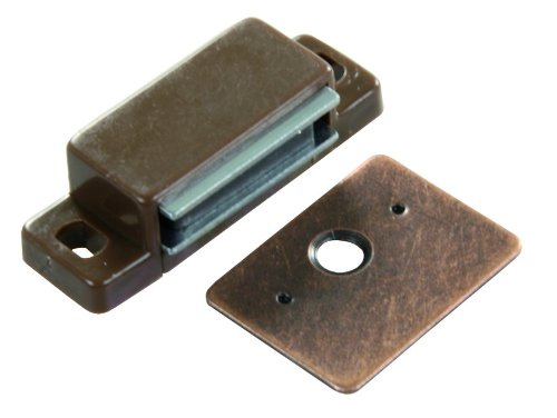JR Products 70265 Side Mount Magnetic Catch, (Pack of 2) (Magnetic Cabinet Closure compare prices)