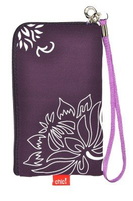 Neopren Zipper Tasche Handytasche FLOWER VIOLETT LILA mit Blumenmuster f&#252;r Motorola Atrix 4G Huawei Ideos X3 RIM Blackberry Bold 9700 9780 Curve 8520 Storm 2 9520 9550 Nokia C5 C5-03 C6 C7 N78 N79 N8 N97 E71 E72 X6 5228 5230 5250 5800 XpressMusik X3-02 Touch and Type Google NEXUS S Samsung i5800 Galaxy 3 i9000 Galaxy S S5230 S5260 Star 2 II S5570 Galaxy MINI S5620 Monte S8000 Jet S8500 Wave S8530 Wave 2 S5830 Galaxy Ace 525 533 723 LG KP500 Cookie KM900 Arena KM570 Arena II Apple iPhone 3G 3GS 4