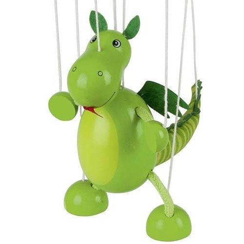 Jouetprive-Marionnette dinosaure