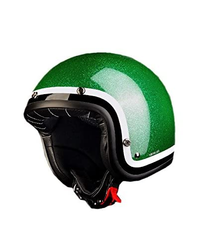 Project For Safety Casco Moto BR10 [Verde]
