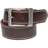 Walletsnbags Casual Texas Belt (B 52_Brown_42)