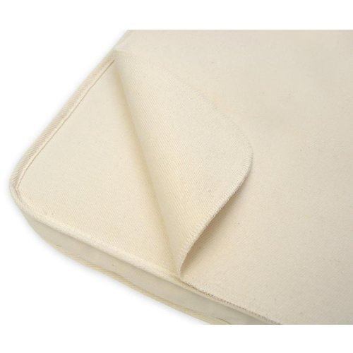 Naturepedic Waterproof Infant Bassinet Protector Pad (Flat- 15in x 30in)