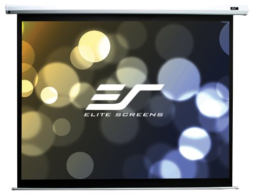 "Elite Screens 84 Inch 4:3 Spectrum Electric Projection Screen (50.4""Hx67.2""W)"