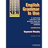 English Grammar In Use, seconde �dition. With Answerspar Raymond Murphy