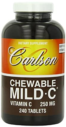 buy Carlson Labs Mild-C Chewable, 250Mg, 240 Tablets