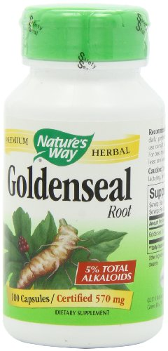 Nature's Way Goldenseal Root, 100 Capsules