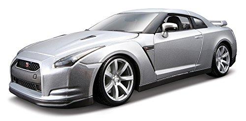 bburago-12079r-vehicule-miniature-modele-a-lechelle-nissan-gt-r-r35-echelle-1-18-modele-aleatoire