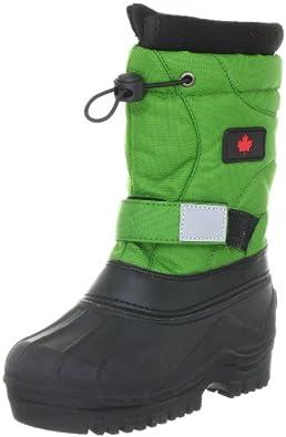 Canadians 467 092, Unisex - Kinder Stiefel, Schwarz (schwarz grün 072), EU 24