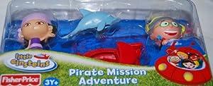 Little Einsteins 4 Inch Figure 2-Pack Pirate Mission Adventure