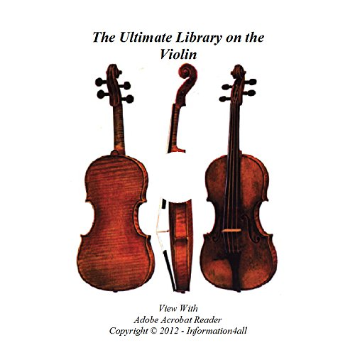 Violin, Ultimate Library on DVD - 85 Books, Violins, How to Make, Repair, Restoration, Repair, Instrument