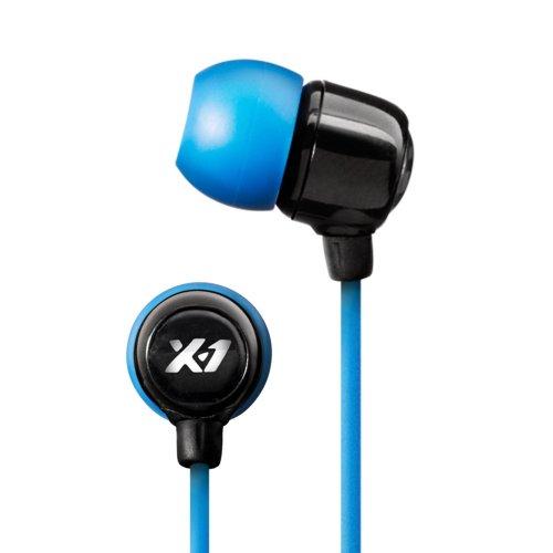 X-1 (Powered By H2O Audio) Sg-Mn1-Bk Surge Mini Waterproof In-Ear Sport Headphones (Black)