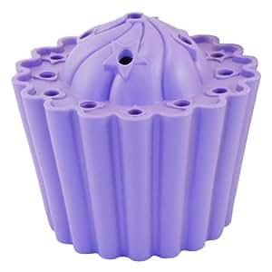 Joster Fleur Daily Cupcake Flower Vase, Lavender