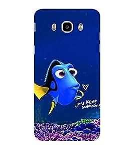 ifasho Designer Phone Back Case Cover Samsung Galaxy J7 (6) 2016 :: Samsung Galaxy J7 2016 Duos :: Samsung Galaxy J7 2016 J710F J710Fn J710M J710H ( Colorful Pattern Design Star Fish )