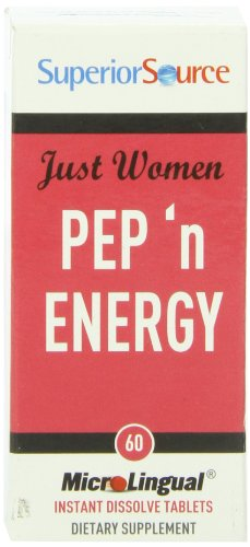 Superior Source Just Women - Pep N' Energy Capsules, 60 Count