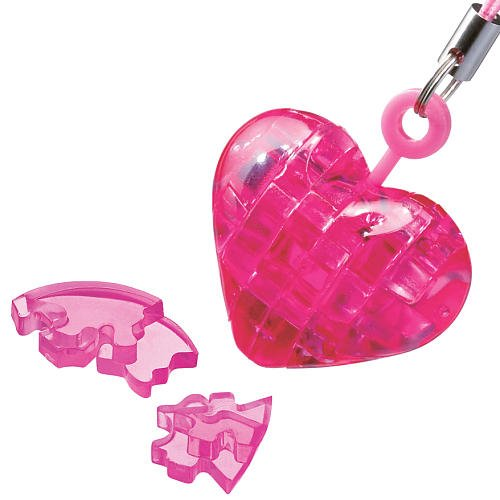 BePuzzled Mini 3D Crystal Puzzle - Heart