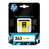 1 Original Printer Ink Cartridge for HP Photosmart D7260 - Yellow