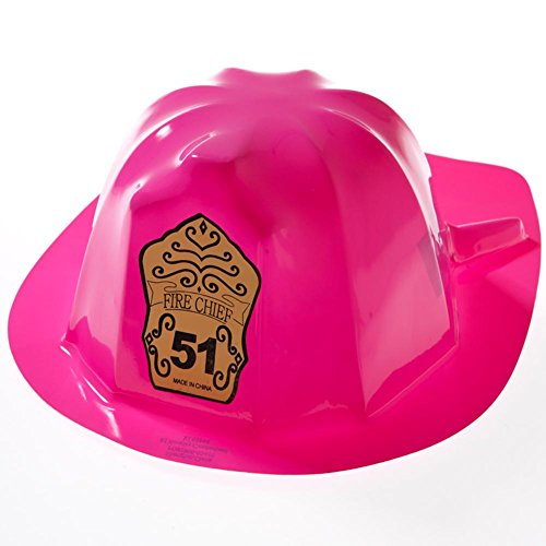 Children's Pink Fire Fighter Hats