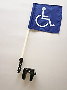 Handicap Golf Cart Flag with Mount by Buchner Enterprises