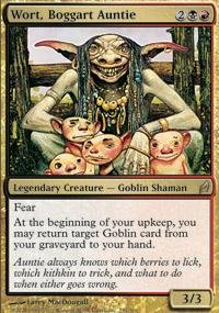Magic: the Gathering - Wort, Boggart Auntie - Lorwyn