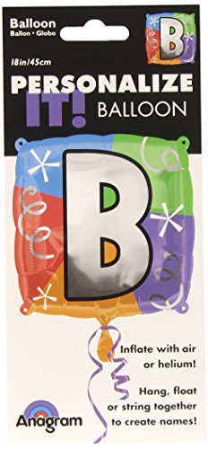 Anagram International Letter B Quad Package Balloon, 18""