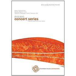 CMC Winter Chamber Concert 2013
