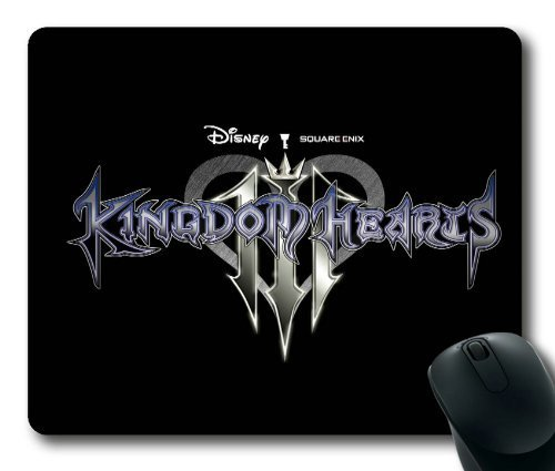 Kingdom Hearts Logo Game Mouse Pad/Mouse Mat Rectangle by ieasycenter