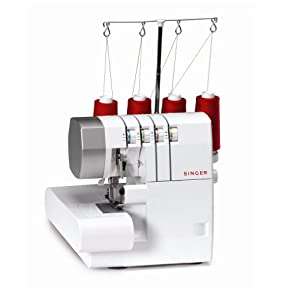 SINGER 14CG754 ProFinish 2-3-4 Thread Serger With Machine Intro DVD