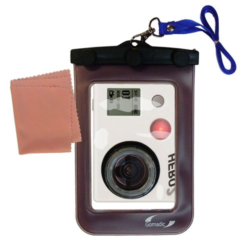 Lightweight Underwater Camera Bag Suitable For The Gopro Hero 2 Waterproof Protection