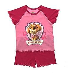 Girls Paw Patrol Pyjamas 2 Piece Character Pjs Short Pyjama Set Kids Size from Paw Patrol