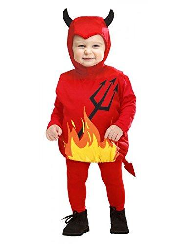 Costume da Diavoletto in Taglia 1/3 Anni