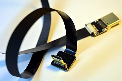 Neue-schwarze-FPV-HDMI-Kabel-Mini-Schnittstelle-zu-Standard-Schnittstelle-fr-5D-3-5-D-2-GH3-GH2-5N-5-t-5R-7N-40CM