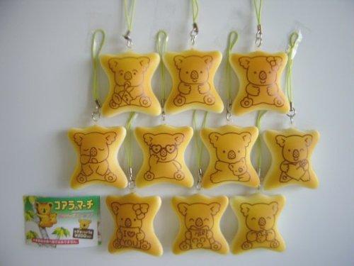 コアラのマーチ スクイーズ ストラップ レア入 10種 ワルツ :全10種 1 コアラのマーチくん 2 コアラのワル