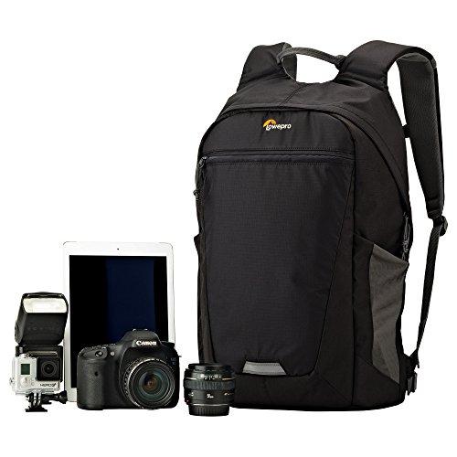 【国内正規品】Lowepro(ロープロ)  バックパック フォトハッチバックBP 250AW2 5.0L(カメラ収納部) ブラック/グレー 369575