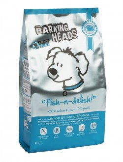 Barking Heads Natural Complete Dog Food Fish n delish grain free sweet potato