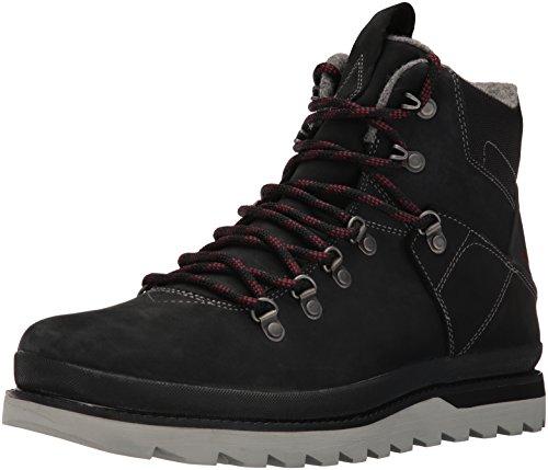 VolcomOutlander Boot - Stivali a metà polpaccio con imbottitura leggera Uomo , Nero (Nero (nero)), 42