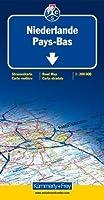 Carte routière et touristique : Pays-Bas