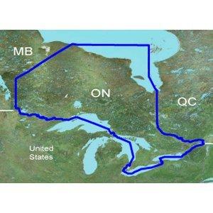 Garmin Inland Lakes Ontario Canada Freshwater Map microSD Card