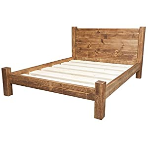 Funky Chunky Furniture Chunky Wooden Bed Frame With Treble