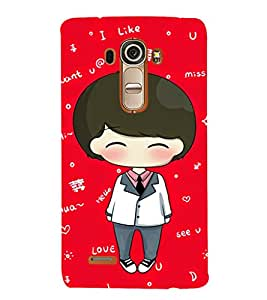 Ebby Premium Printed Mobile Back Case Cover With Full protection For LG G4 (Designer Case)