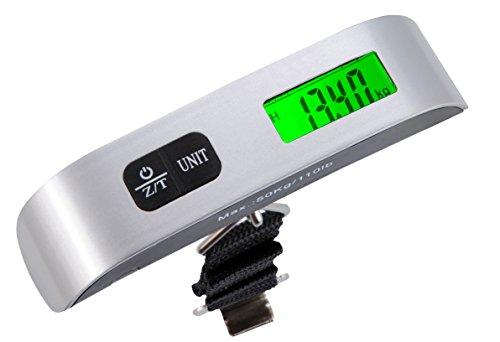 Beco 933.00 balance à bagages numérique avec affichage numérique de gepäckgewicht poids max. : 50 kg-matériau : plastique avec piles