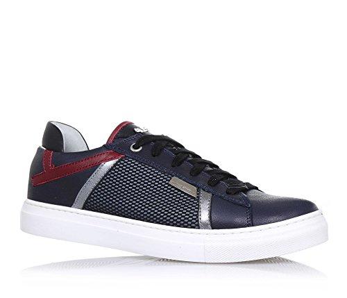 4us-cesare-paciotti-zapato-azul-de-cordones-de-cuero-y-tejidocon-el-logo-de-metal-en-la-lengueta-y-e