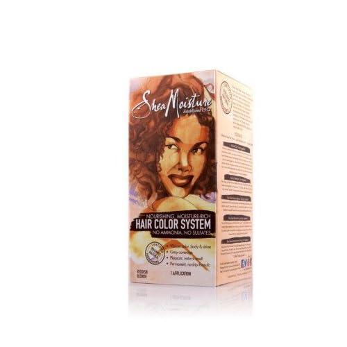 .com : Shea Moisture Reddish Blonde Hair Color System : Chemical Hair