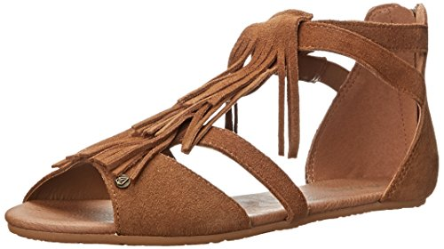 Volcom Backstage Sndl, Sandali donna, colore Marrone (Cognac, Cog), taglia EU 41 (UK 7.5 / US 10)