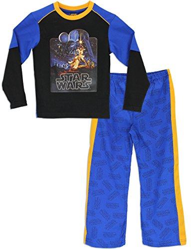 Star Wars - Pigiama a maniche lunga per ragazzi - 5 a 6 Anni