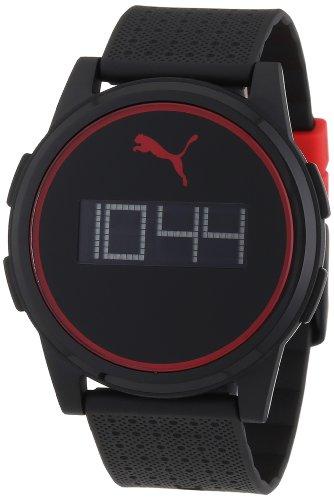 Esprit A.PU910971006 - Reloj digital de cuarzo para hombre con correa de plástico, color multicolor