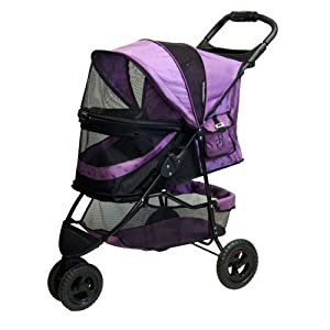 Pet Gear No-Zip Special Edition Pet Stroller, Orchid