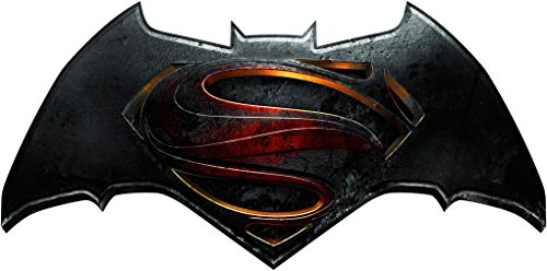 Batman V Superman Logo Decal Removable