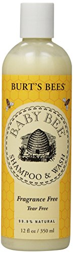 Burt's Bees Baby Shampoo & Wash, Fragrance Free, 12 Ounces (Pack of 3) (Packaging May Vary)