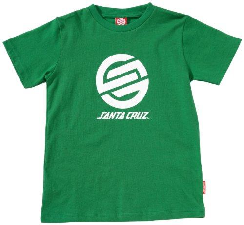 Santa Cruz Stripknot Kids Logo Boy's T-Shirt Rich