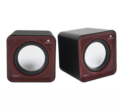 Zebronics Prime 2 2.0 Channel Multimedia Speakers